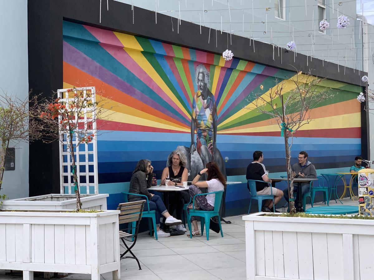 Mural de Eduardo Kobra em West Palm Beach