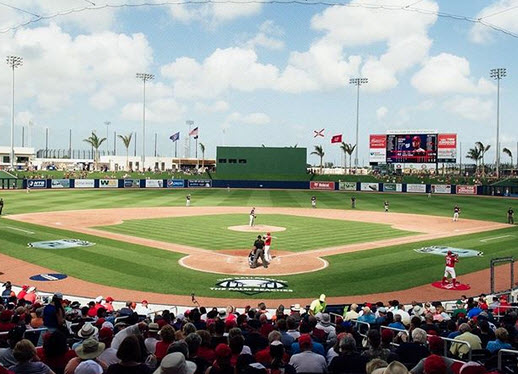 Fitteam Ballpark of The Palm Beaches image of the baseball field