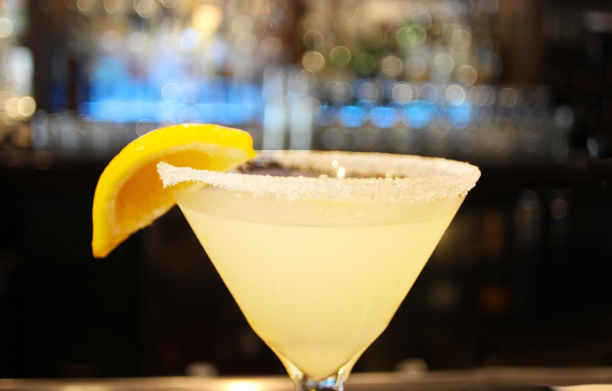 Henry es Lemon Drop Martini