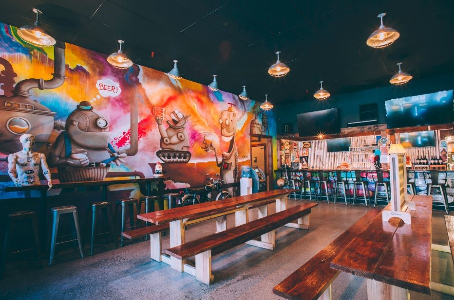 Kelsey City Brewing Company Interieur