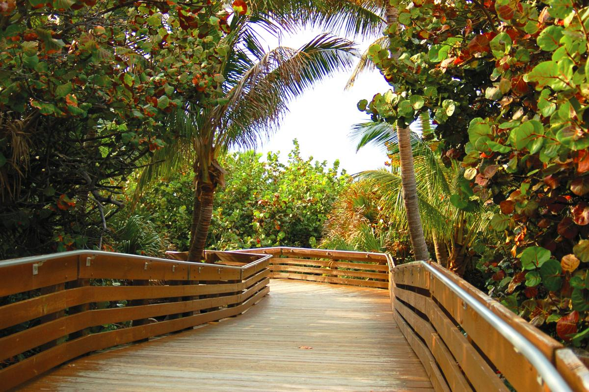 Ocean Reef Park boardwalk ramp