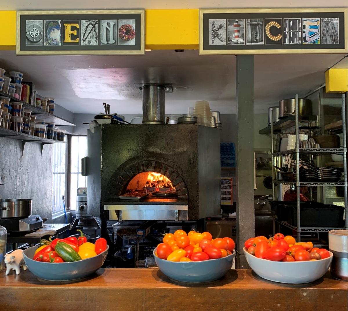 Inside Oceano Kitchen