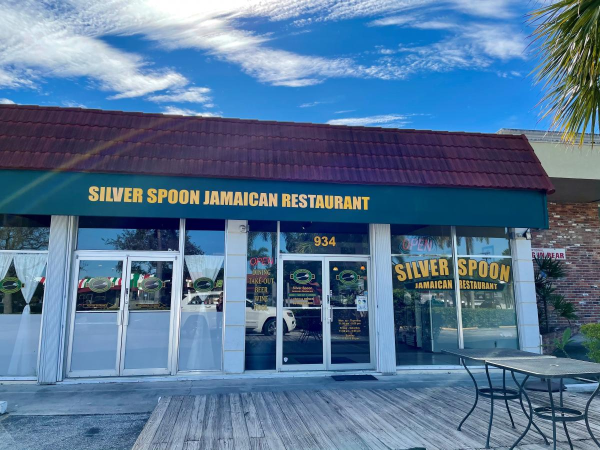Exterior of Silver Spoon