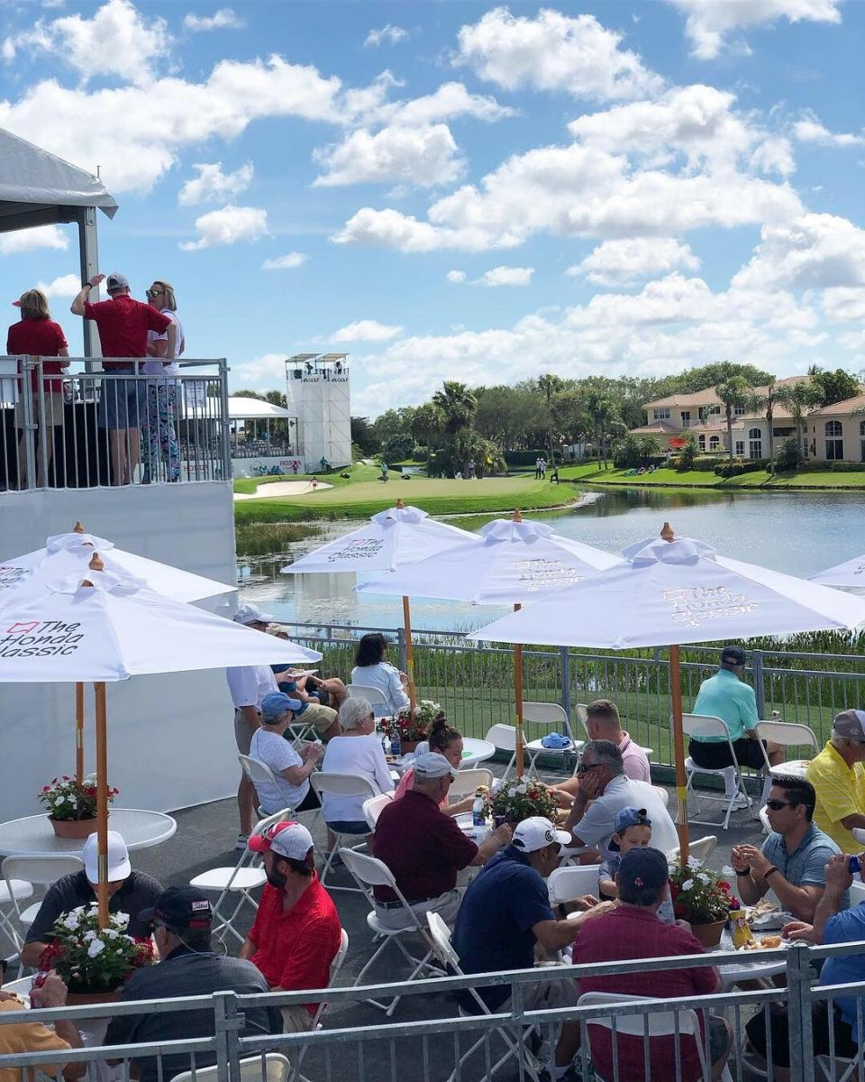 Fans at the Honda Classic