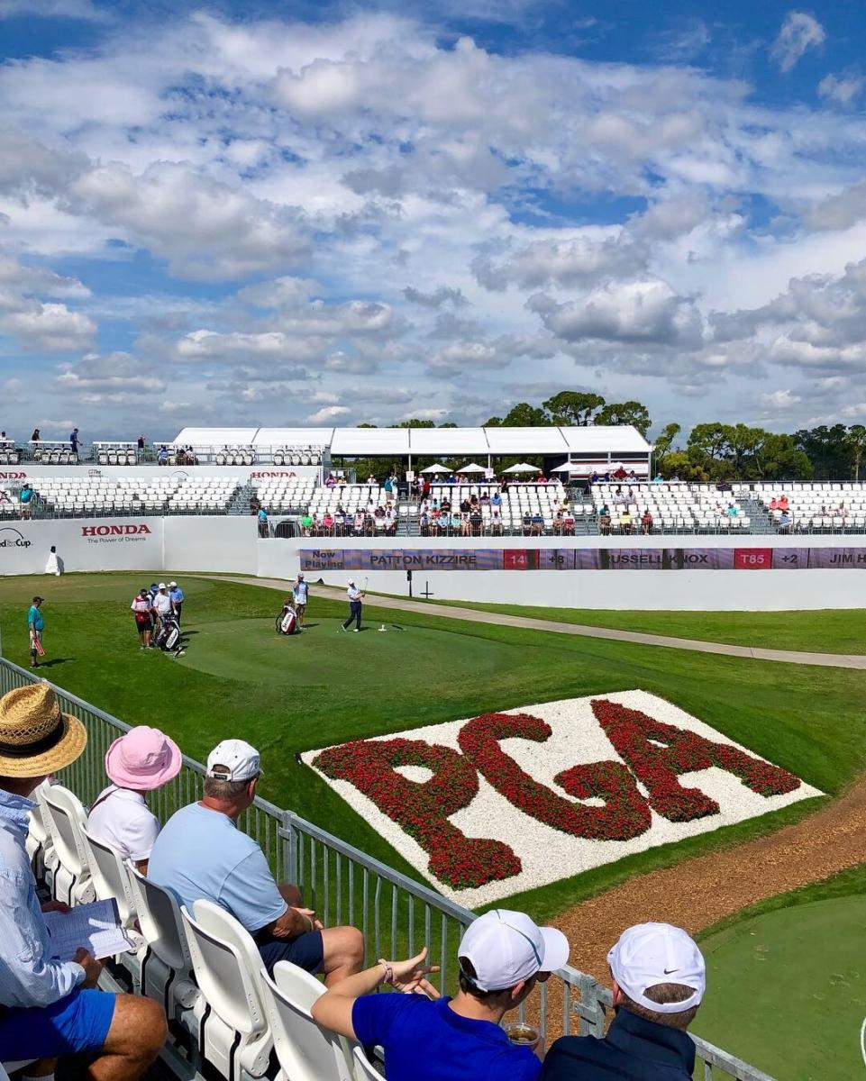 Gallery of Fans at the Honda Classic