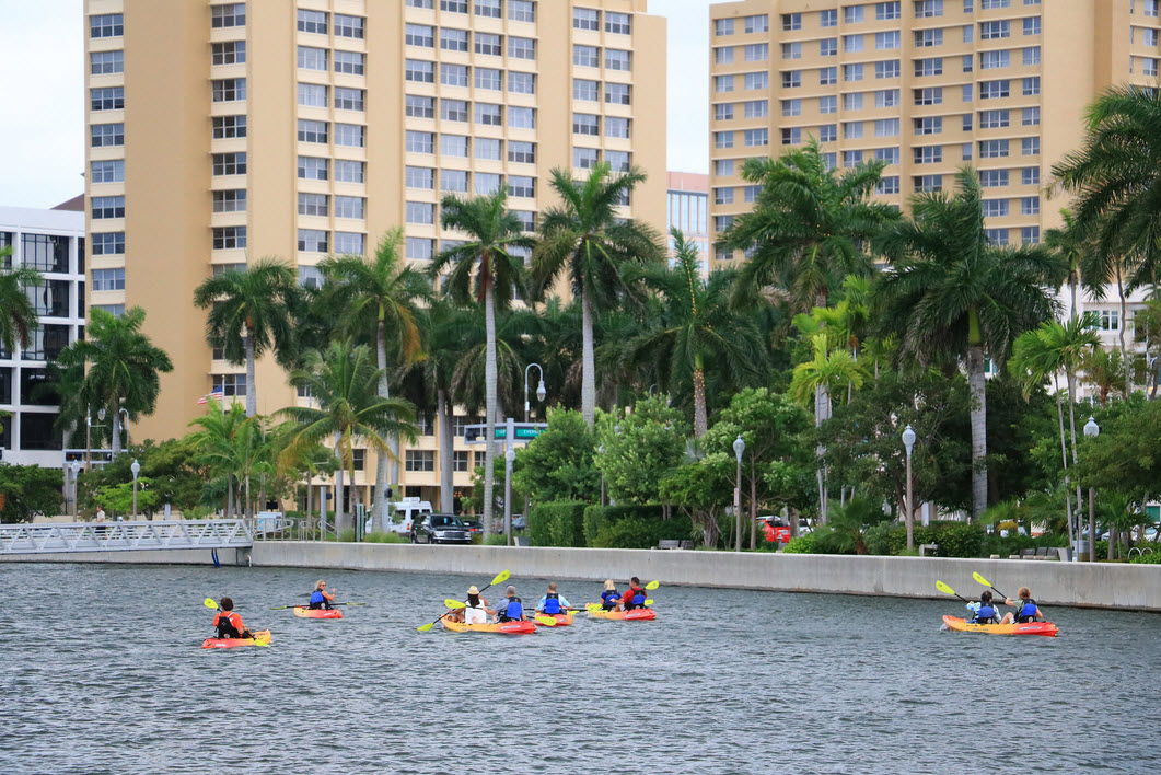 Kayaking Lake Worth Lagoon
