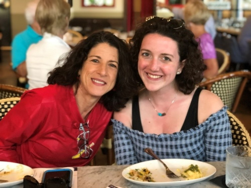 Mom and daughter partaking in food tour with West Palm Beach