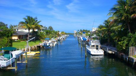North Palm Beach Canal