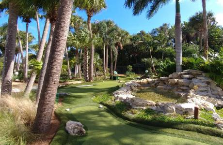 Mini parcours de golf du South Florida Science Center