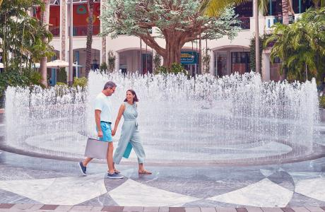 Shopping à Rosemary Square, West Palm Beach