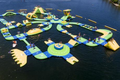 $5 Off Obstacle Island & Cable Park Tix