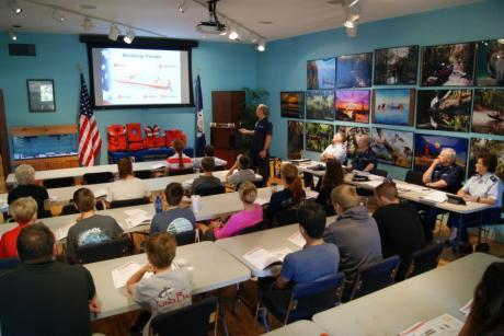 BOATING SAFELY CLASS