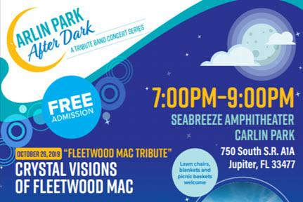 Carlin Park After Dark Concert Series: Crystals Visions of Fleetwood Mac