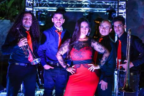 Clematis By Night: Catabella & the Latin Band (Tropical/Latin)