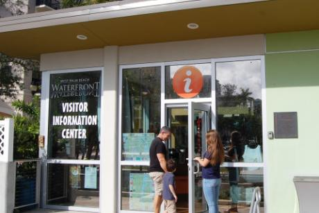 West Palm Beach Waterfront Visitor Information Center
