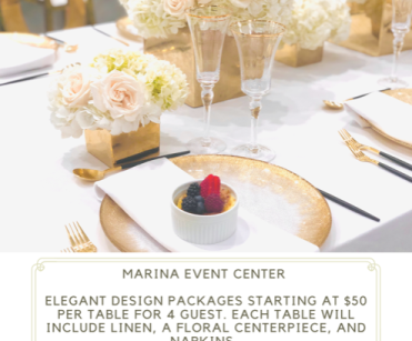Elegant Table Design Packages For Your Event
