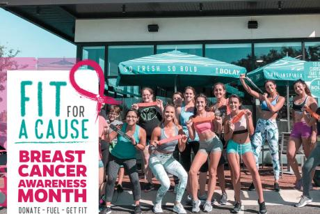 Fit For A Cause Zumba Workout with Palm Beach Sports Club!