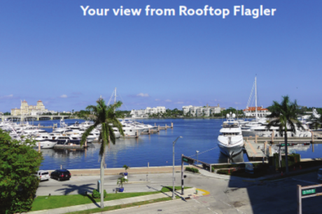 View from Rooftop Flagler