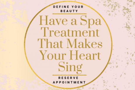 Have a Spa Treatment That Makes Your Heart {Sing}!