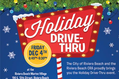 Holiday Drive Thru at the Riviera Beach Marina Village