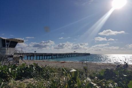 Lake Worth Municipal Beach - View of Pier