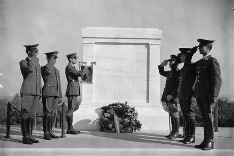 Lecture: Tomb of the Unknown Soldier: A Century of Honor, 1921-2021