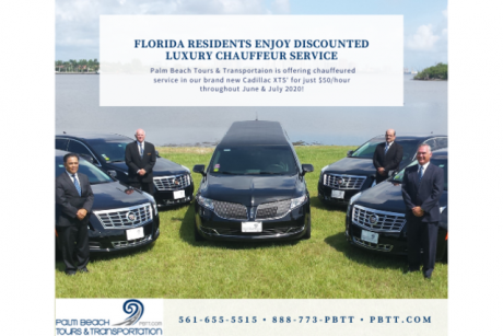 Luxury Chauffeured Service just $50/hour Palm Beach Tours & Transportation