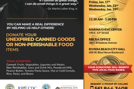 MLK Day of Service Canned Food Drive