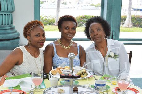 Mother's Day Tea in the Cafe des Beaux-Arts