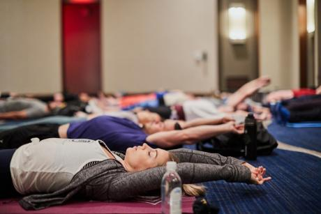 New Moon Yoga at Hilton West Palm Beach