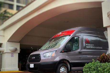 Shuttle - Services a three mile radius from the property
