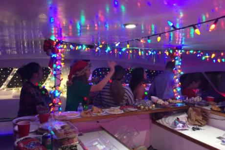 Holiday Party Cruises - Enjoy our holiday lights cruises from Boca Raton