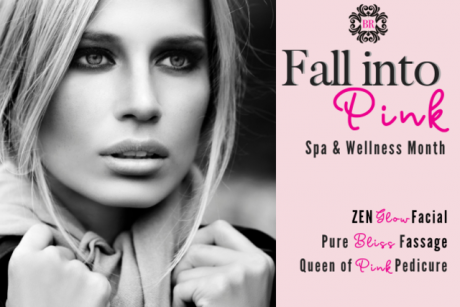 Pink Wellness Menu