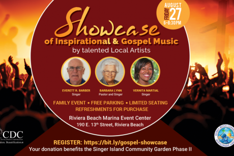 Showcase of Inspirational Gospel & Music by Talented Local Artists