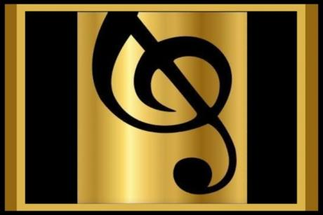 Spanish River Concerts Gold Logo