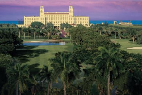 The Breakers with Purple Sky - The Breaker in Palm Beach