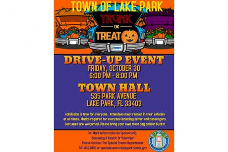 Trunk or Treat Drive-Up Event