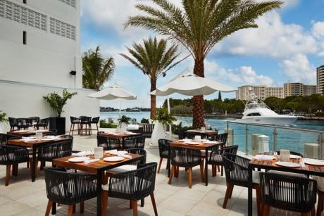 Waterfront Dining The Palm Beaches Florida
