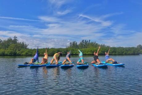 Yoga on the Water Session