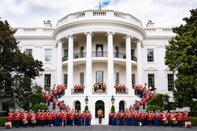 """""""The President's Own"""" United States Marine Band"""