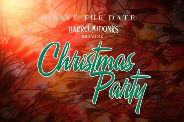 Barrel of Monks Brewing Christmas Party