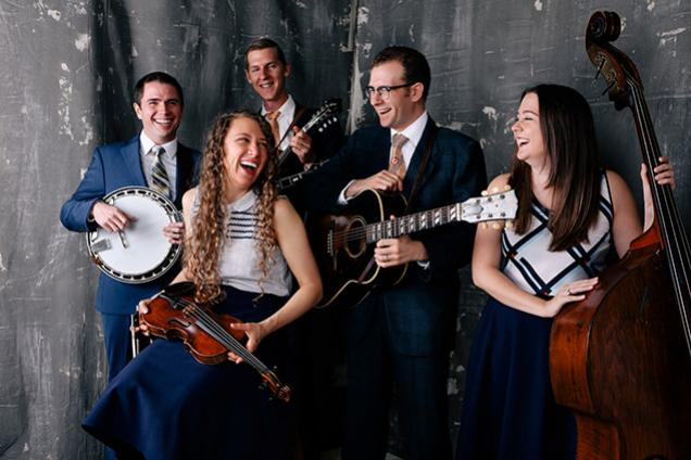 Bluegrass in the Pavilion