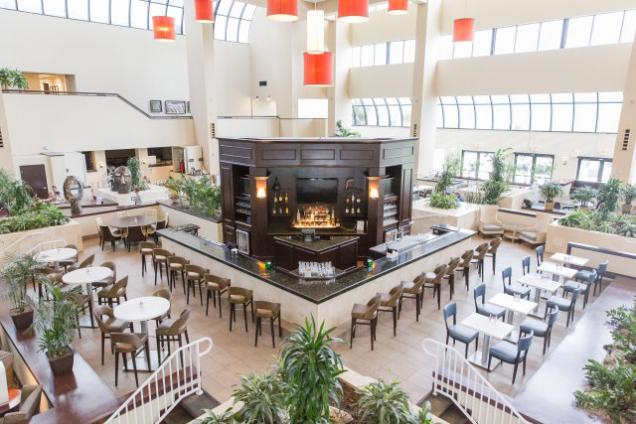 The Atrium Bar - Located in our lobby.