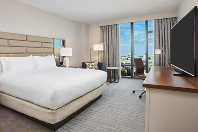 Hilton West Palm Beach King Deluxe Room City View