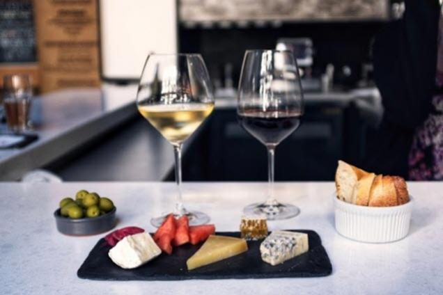 The Blind Monk Wine and Cheese