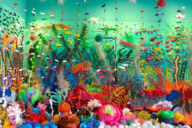 Plastic Reef: Sculpture by Federico Uribe in Partnership with the Perry Cohen Foundation