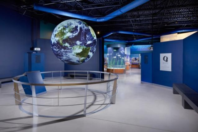 Science on a Sphere plays thousands of data-sets daily.