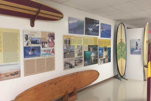 Surfing Florida Museum - Surfing Florida Museum display