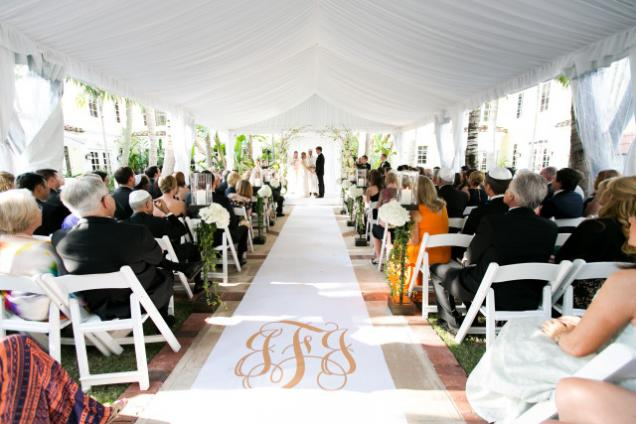 Wedding in the North Courtyard