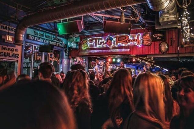 Tin Roof Stage
